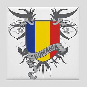 Romania Winged Tile Coaster