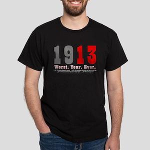 1913_23x35_print-black T-Shirt