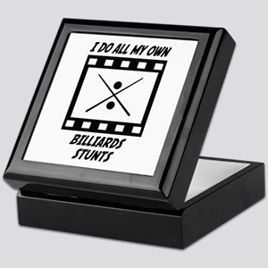Billiards Stunts Keepsake Box