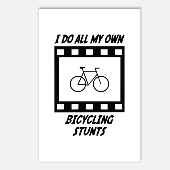 Bicycling Stunts Postcards (Package of 8)