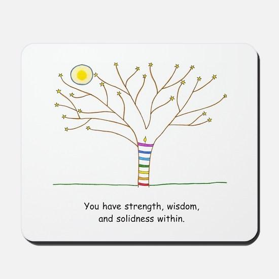 New Age Tree Wisdom Mousepad