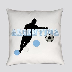 Argentina Soccer Player Everyday Pillow