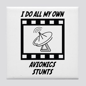 Avionics Stunts Tile Coaster