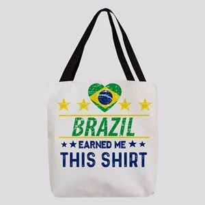 Brazil earned me this tees Polyester Tote Bag