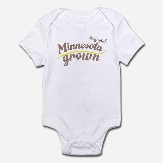 Organic! Minnesota Grown! Infant Bodysuit