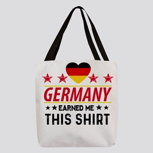 Germany earned gift tees Polyester Tote Bag