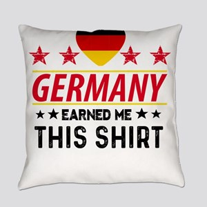 Germany earned gift tees Everyday Pillow