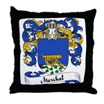 Marchal Family Crest Throw Pillow