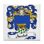 Marchal Family Crest Tile Coaster