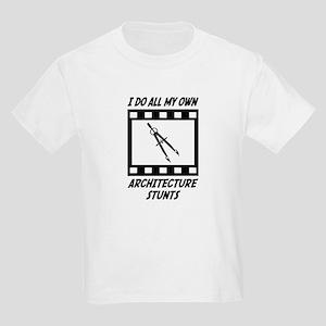 Architecture Stunts Kids Light T-Shirt