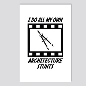 Architecture Stunts Postcards (Package of 8)