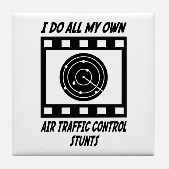 Air Traffic Control Stunts Tile Coaster