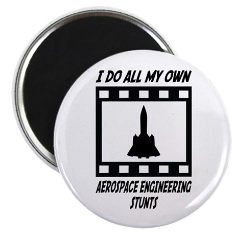 "Aerospace Engineering Stunts 2.25"" Magnet (10 pack"