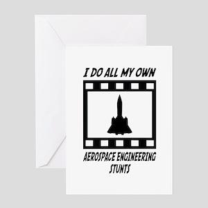 Aerospace Engineering Stunts Greeting Card