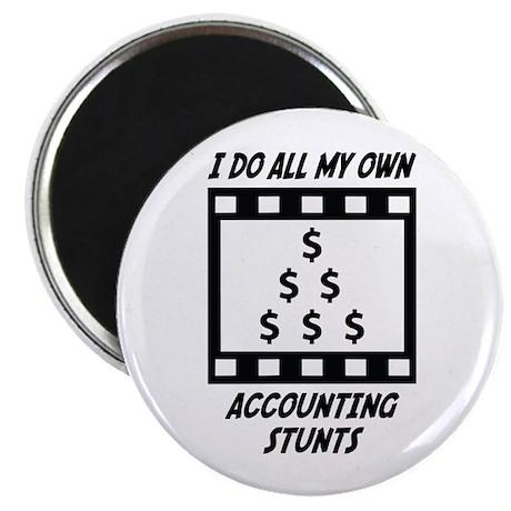 Accounting Stunts Magnet