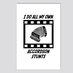 Accordion Stunts Postcards (Package of 8)