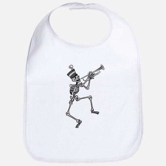 Skeleton Trumpet Bib