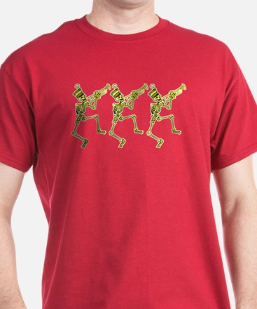 Skeletons With Trumpets Shirt - T-Shirt