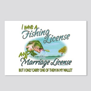 > Fishing - Marriage - Li Postcards (Package of 8)