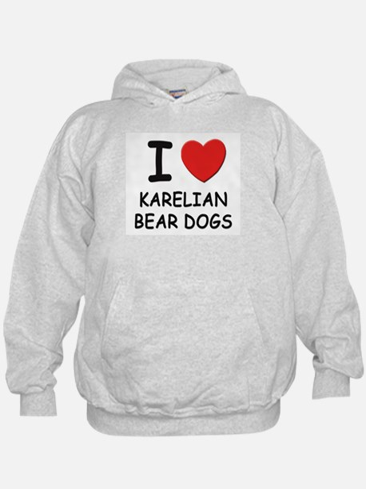 I love KARELIAN BEAR DOGS Hoodie