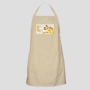 Best Of Breed Pomeranian BBQ Apron