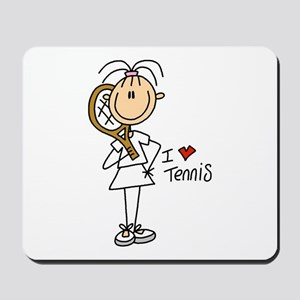 Girl I Love Tennis Mousepad