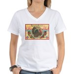 Turkey Sampler Women's V-Neck T-Shirt