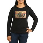 Turkey Sampler Women's Long Sleeve Dark T-Shirt