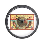 Turkey Sampler Wall Clock