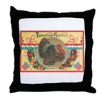 Turkey Sampler Throw Pillow