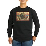 Turkey Sampler Long Sleeve Dark T-Shirt