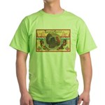 Turkey Sampler Green T-Shirt
