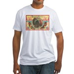 Turkey Sampler Fitted T-Shirt