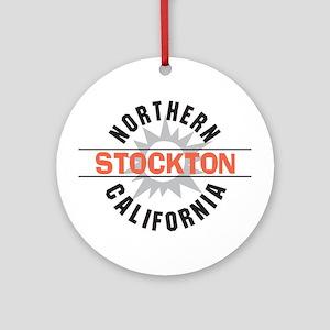 Stockton California Ornament (Round)
