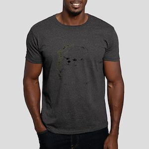 Pom Head 3 blk.&wh. Dark T-Shirt
