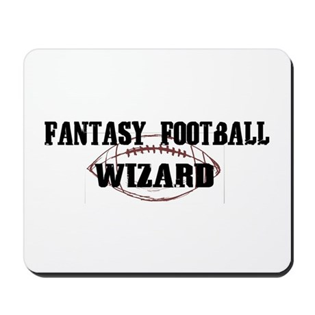 Fantasy Football Wizard Mousepad