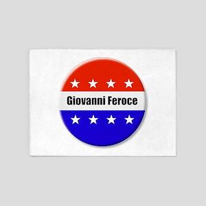 Giovanni Feroce 5'x7'Area Rug