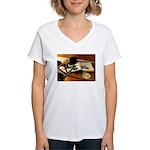 Worshipful Master Women's V-Neck T-Shirt