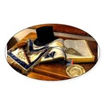Worshipful Master Oval Sticker (50 pk)
