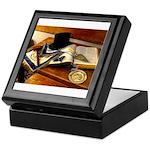 Worshipful Master Keepsake Box