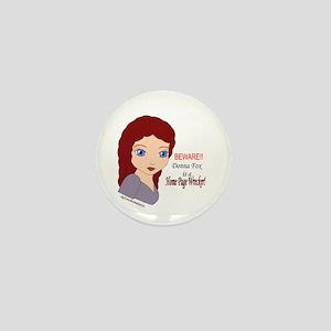 Donna Fox HP Wrecker Mini Button