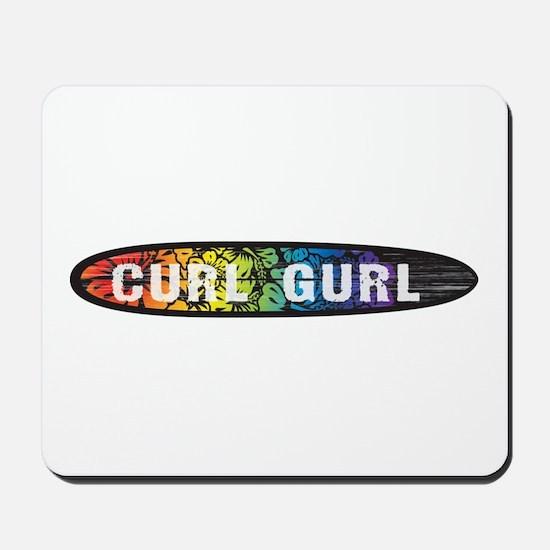 RainbowCurlGurl Mousepad