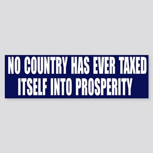 Tax Prosperity Bumper Sticker