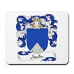 Merlin Family Crest Mousepad