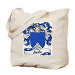 Merlin Family Crest Tote Bag