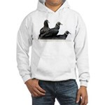 Black Vulture Family Hooded Sweatshirt