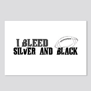 Bleed Silver and Black (Oakland) Postcards (Packag