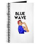 Blue Wave Strong Lady Journal