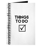Things To Do Journal