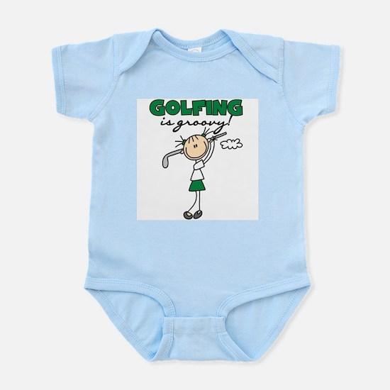 Golfing is Groovy Infant Bodysuit